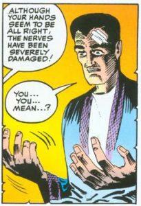 Dr Strange hands