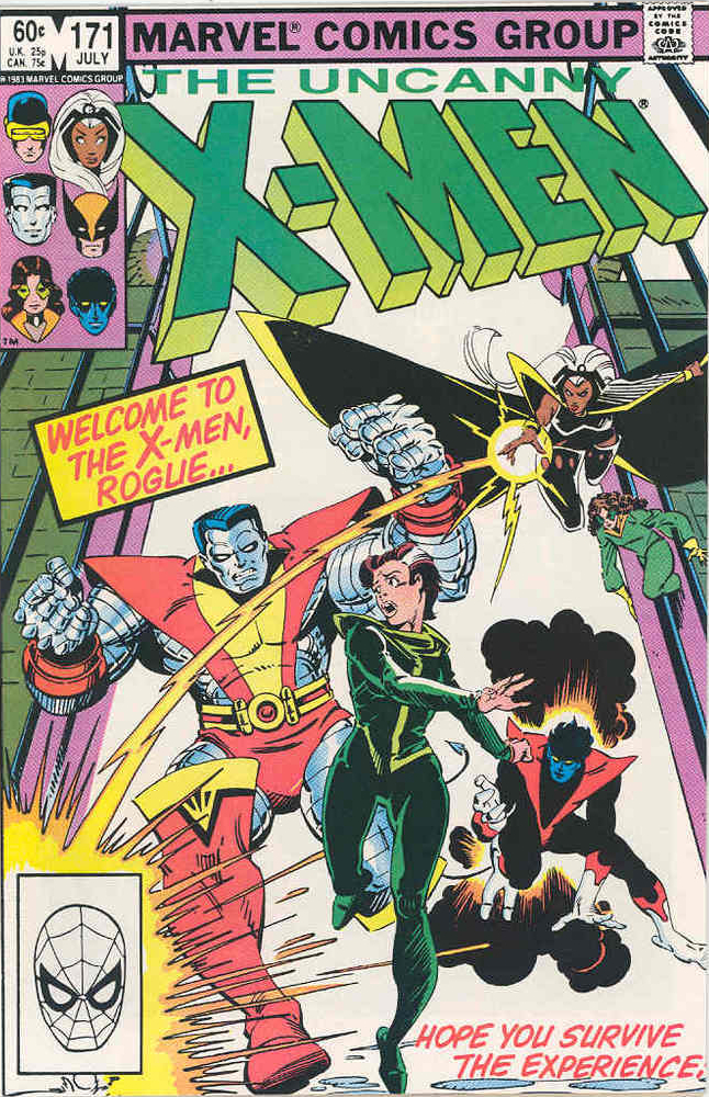 Rogue joing x-men