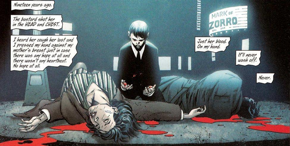 batman dead parents
